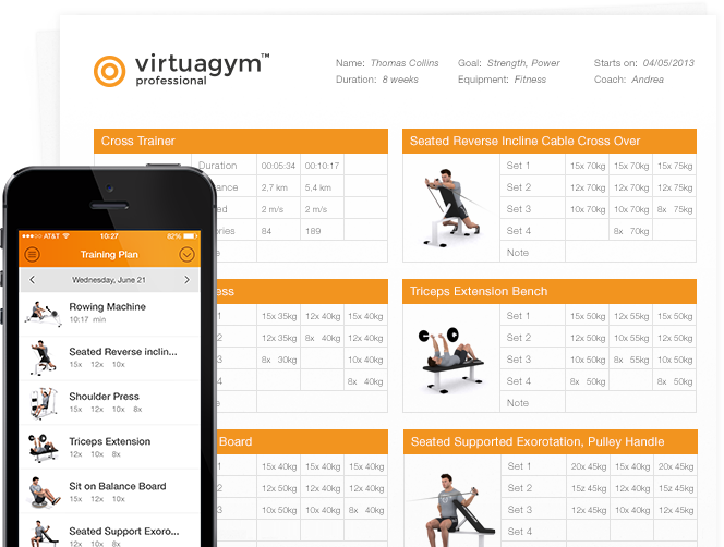 Virtuagym Software Voor Personal Trainers Om Cli Nten