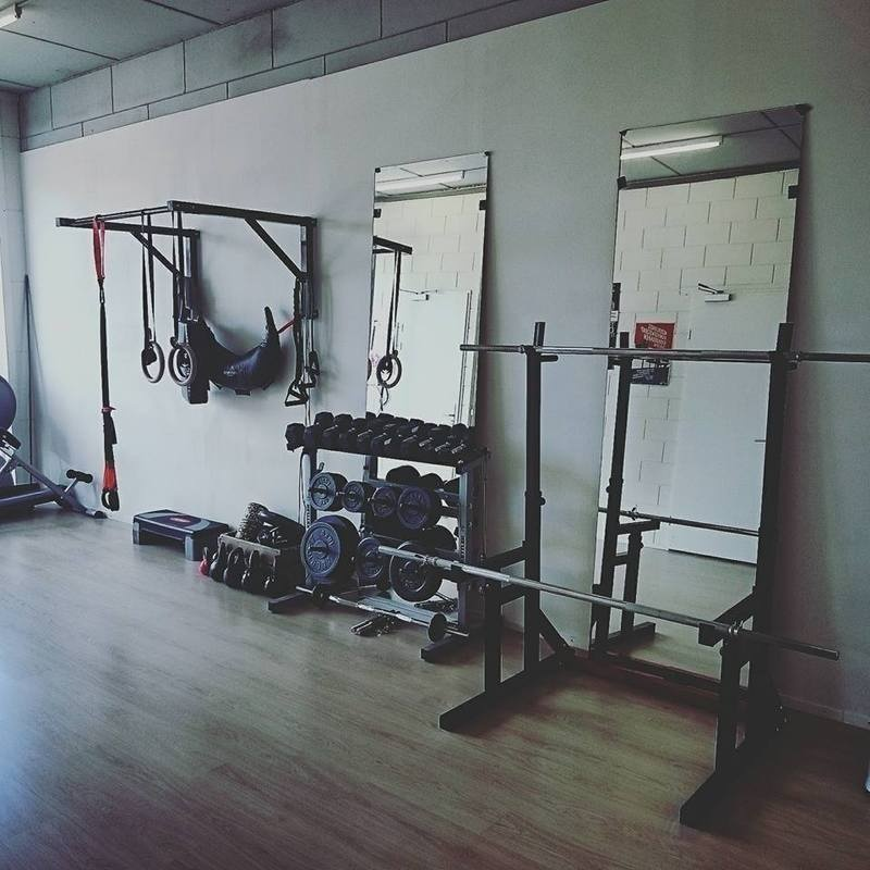 Our own private gym!
