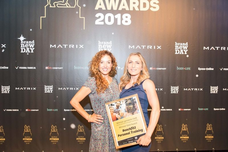Dutch Fitness Awards Beste Personal Trainer Delft!